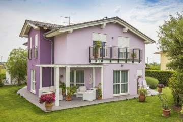 Modello Casa in Legno Vicenza di Spazio Positivo