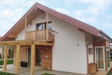 Realizzazione Casa in Legno Abitazione con legno a vista di FBE Woodliving