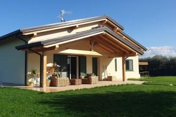 Modello Casa in Legno Villetta Toscana di FBE Woodliving