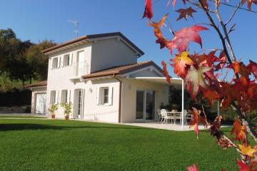 Modello Casa in Legno Villetta di Collina di FBE Woodliving