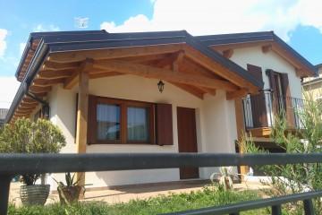 Realizzazione Casa in Legno Abitazione Linea 130 mq di FBE Woodliving