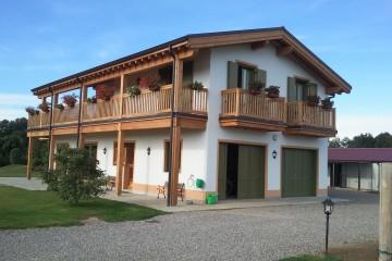 Realizzazione Casa in Legno Linea case su misura di FBE Woodliving