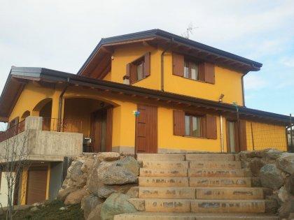 Casa In Legno Modello Abitazione A Due Piani Di Fbe Woodliving