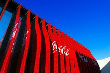 Tetti in Legno in Legno Padiglione Coca Cola