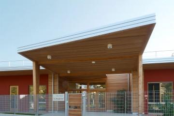 Edifici Pubblici (scuole, chiese) in Legno Asilo Nido Le Margherite