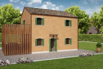 Modello Casa in Legno PELLESTRINA di REITER CASE IN LEGNO