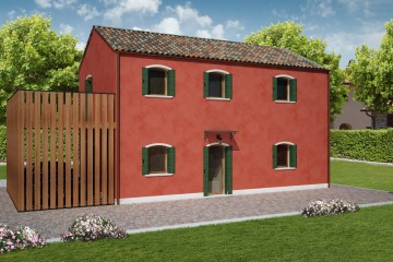 Modello Casa in Legno BURANO di REITER CASE IN LEGNO