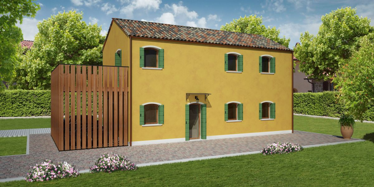 Casa in legno modello rialto di reiter case in legno for Costruttore di case virtuali