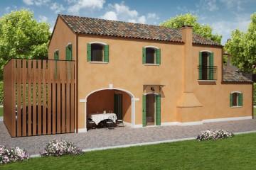 Modello Casa in Legno RIVIERA di REITER CASE IN LEGNO