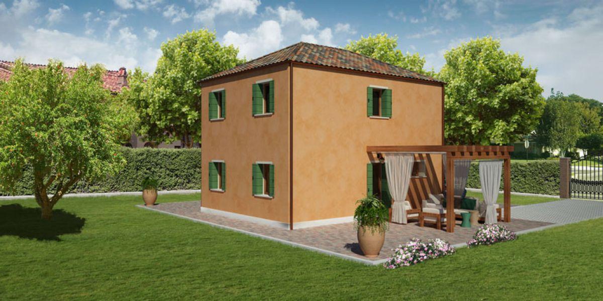 Casa in legno modello murano di reiter case in legno for Costruttore di case virtuali