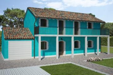 Modello Casa in Legno Marina di REITER CASE IN LEGNO