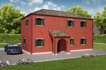 Modello Casa in Legno CANALETTO di REITER CASE IN LEGNO