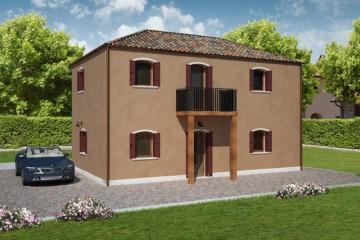 Modello Casa in Legno GIUDECCA di REITER CASE IN LEGNO