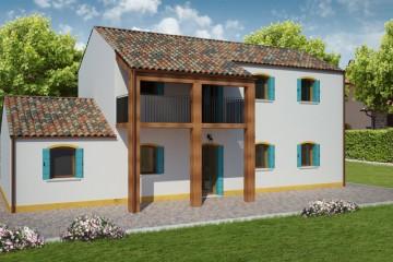 Modello Casa in Legno RIALTO 2 di REITER CASE IN LEGNO