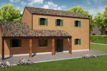 Modello Casa in Legno BURANO 2 di REITER CASE IN LEGNO
