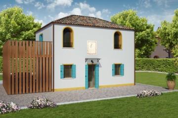 Modello Casa in Legno MURANO 2 di REITER CASE IN LEGNO