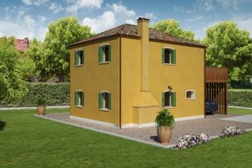 Modello Casa in Legno MURANO 3 di REITER CASE IN LEGNO