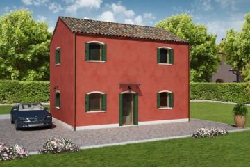 Modello Casa in Legno PELLESTRINA 2 di REITER CASE IN LEGNO