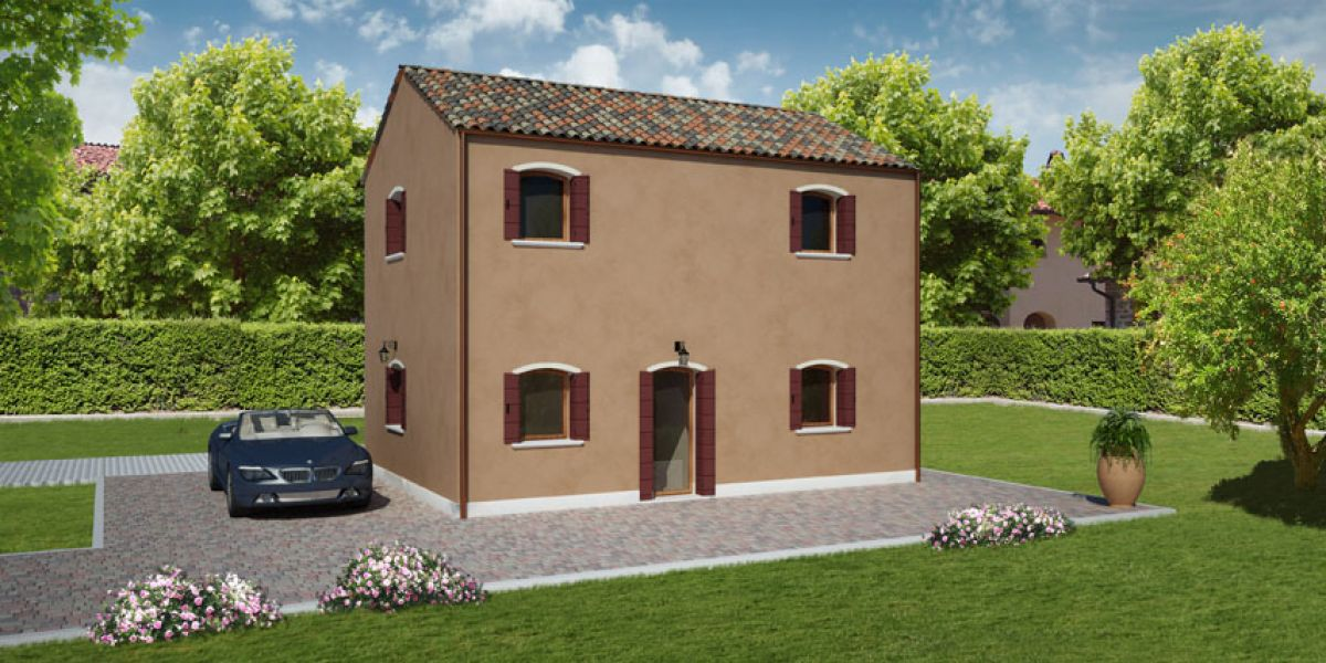 Casa in legno modello pellestrina 3 di reiter case in legno for Costruttore di case virtuali