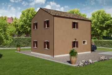Modello Casa in Legno PELLESTRINA 3 di REITER CASE IN LEGNO
