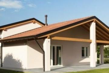 Realizzazione Casa in Legno WILD ROSE di Evoluthion