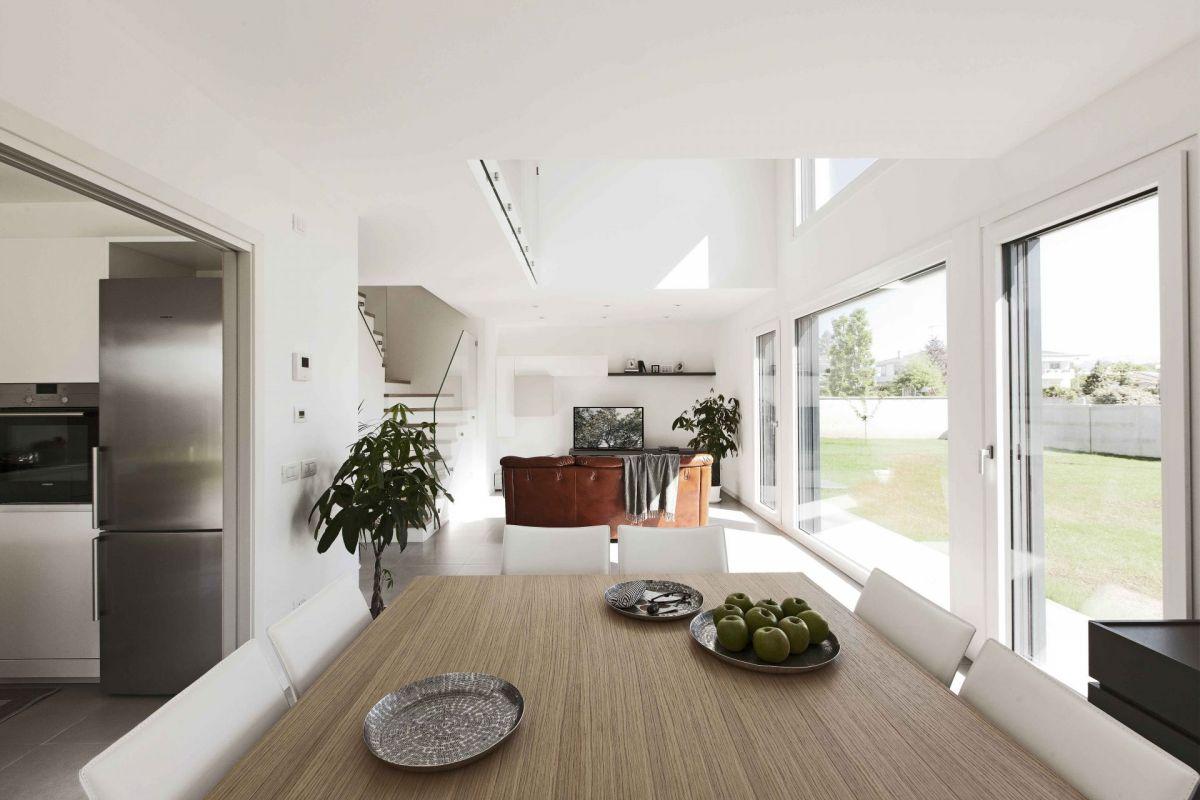 Casa in Legno modello Villa Green River di DomusGaia
