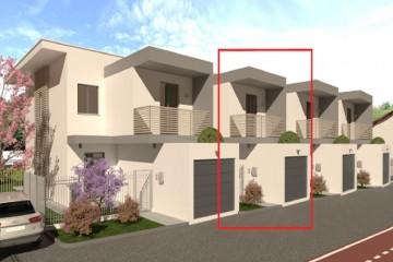 Realizzazione Casa in Legno VILLE A SCHIERA PREFABBRICATE IN LEGNO di Evoluthion