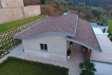 Modello Casa in Legno VILLETTA IN X-LAM Comune di Curinga (CZ) di Angoli Legno &dilizia