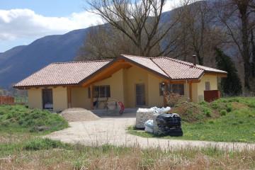 Modello Casa in Legno VILLA monofamiliare Comune Villa S. Angelo (AQ) di Angoli Legno &dilizia