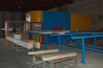 Modello Casa in Legno Impianto di taglio pareti x-lam di Angoli Legno &dilizia