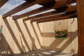 Modello Casa in Legno Sopraelevazione di due piani a Soveria Mannelli (CZ) di Angoli Legno &dilizia