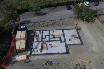 Realizzazione Casa in Legno Villetta monofamiliare (Marcellinara Catanzaro) di Angoli Legno &dilizia