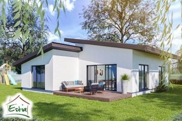 Modello Casa in Legno Jonest 83 di Estia