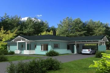Modello Casa in Legno Ballade di Estia House oü
