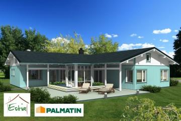 Modello Casa in Legno Ballade di Estia