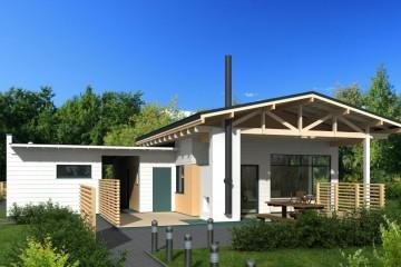 Modello Casa in Legno Clissando di Estia House oü