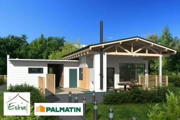 Modello Casa in Legno Clissando di Estia