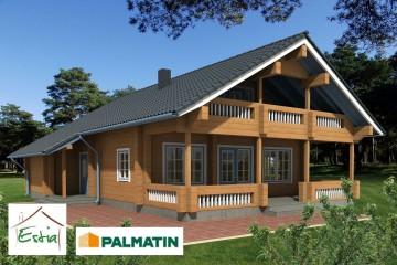 Modello Casa in Legno Sirel di Estia