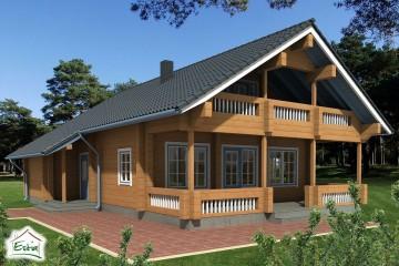 Modello Casa in Legno Sirel di Estia House oü