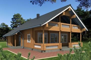 Realizzazione Casa in Legno Sirel di Estia House oü