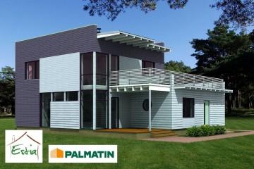 Modello Casa in Legno Tiik di Estia