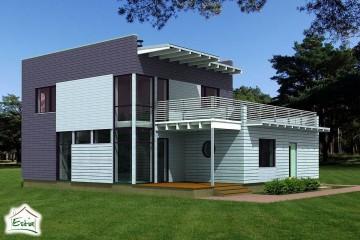 Modello Casa in Legno Tiik di Estia House oü