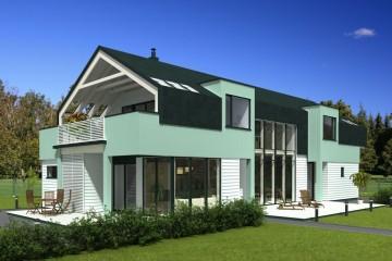 Modello Casa in Legno Symphony di Estia House oü