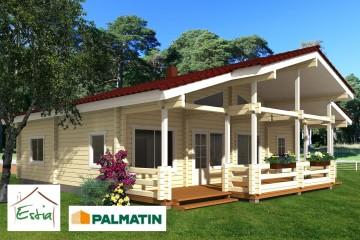 Modello Casa in Legno Hommik di Estia