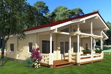 Modello Casa in Legno Hommik di Estia House oü