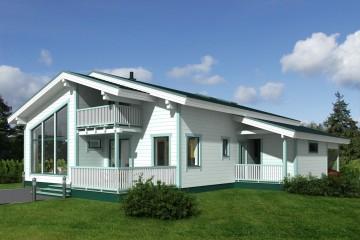 Realizzazione Casa in Legno Rondo di Estia House oü