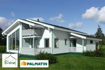 Modello Casa in Legno Rondo di Estia