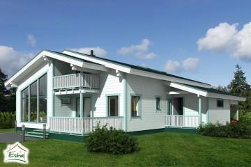 Modello Casa in Legno Rondo di Estia House oü
