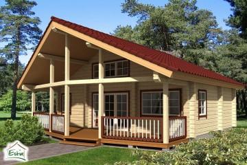 Casa in Legno Sinilill