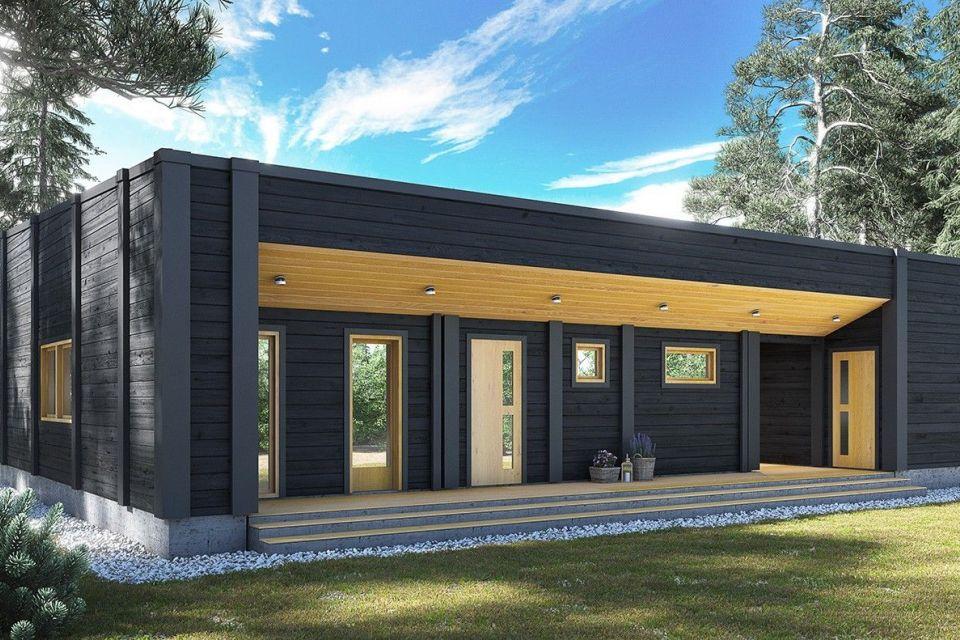 Casa in Legno in stile Moderno: Gregor